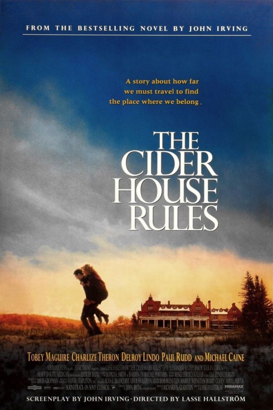 "cider house rules essays ""the cider house rules"" is a very fascinating movie, adapted by john irving the movie was cast in the mid 1940s, shortly after the beginning of world war ii the movie revolves around an orphanage run by dr wilbur larch (michael caine), a good-hearted doctor, who not only procures abortion of."