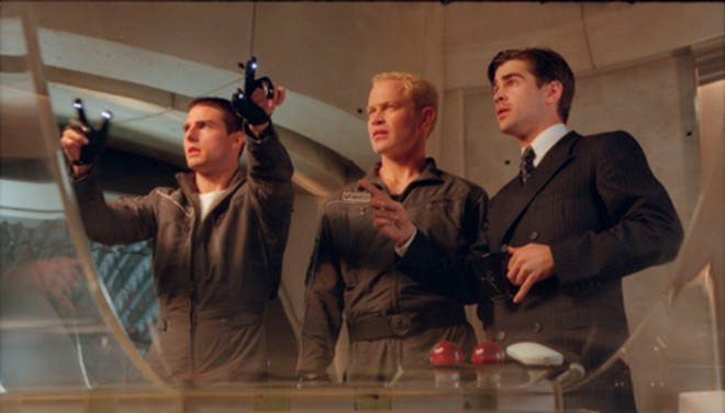 Minority Report movie image Tom Cruise