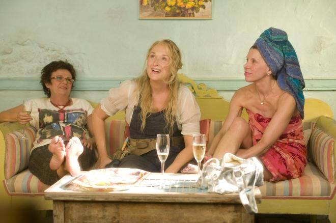 Stills from the upcoming film 'Mamma Mia'